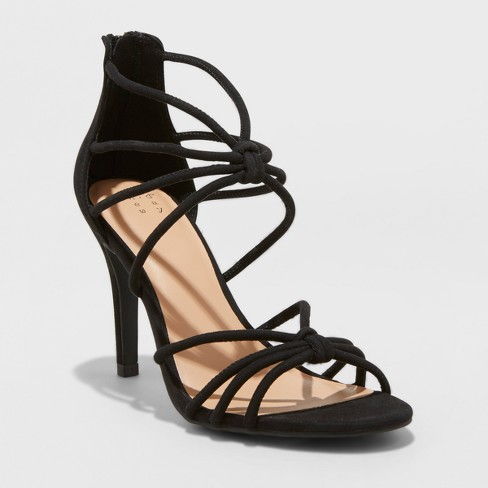Women's Kylin Caged Heel Pumps - A New Day™ - image 1 of 4