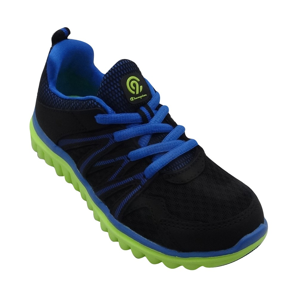 Boys' Premier 5 Performance Athletic Shoes - C9 Champion Black/Blue 5, Boy's