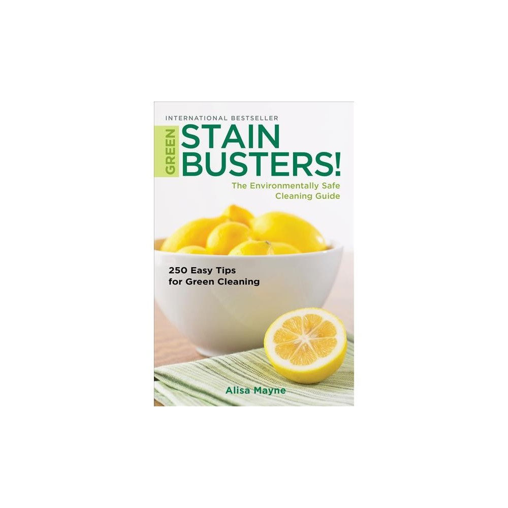 Green Stain Busters! : The Environmental Safe Cleaning Guide - by Alisa Mayne (Paperback)