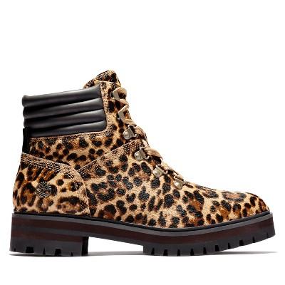 Timberland Women's London Square Safari Leopard Boots