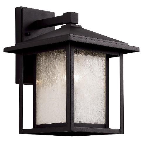 Bel Air Lighting Outdoor Wall Light Black