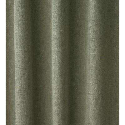 "Homespun Rod-Pocket Insulated Curtain, 72""L"