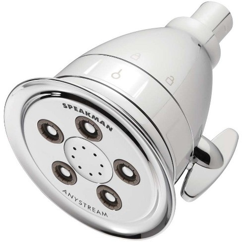 Speakman S-2005-HBF-E2 Hotel Anystream 2.0 GPM Pure Multi-Function Shower Head - image 1 of 4