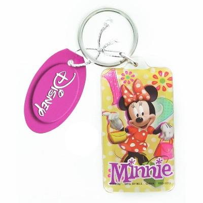 Monogram International Inc. Disney Minnie Mouse Rectangular Lucite Key Ring