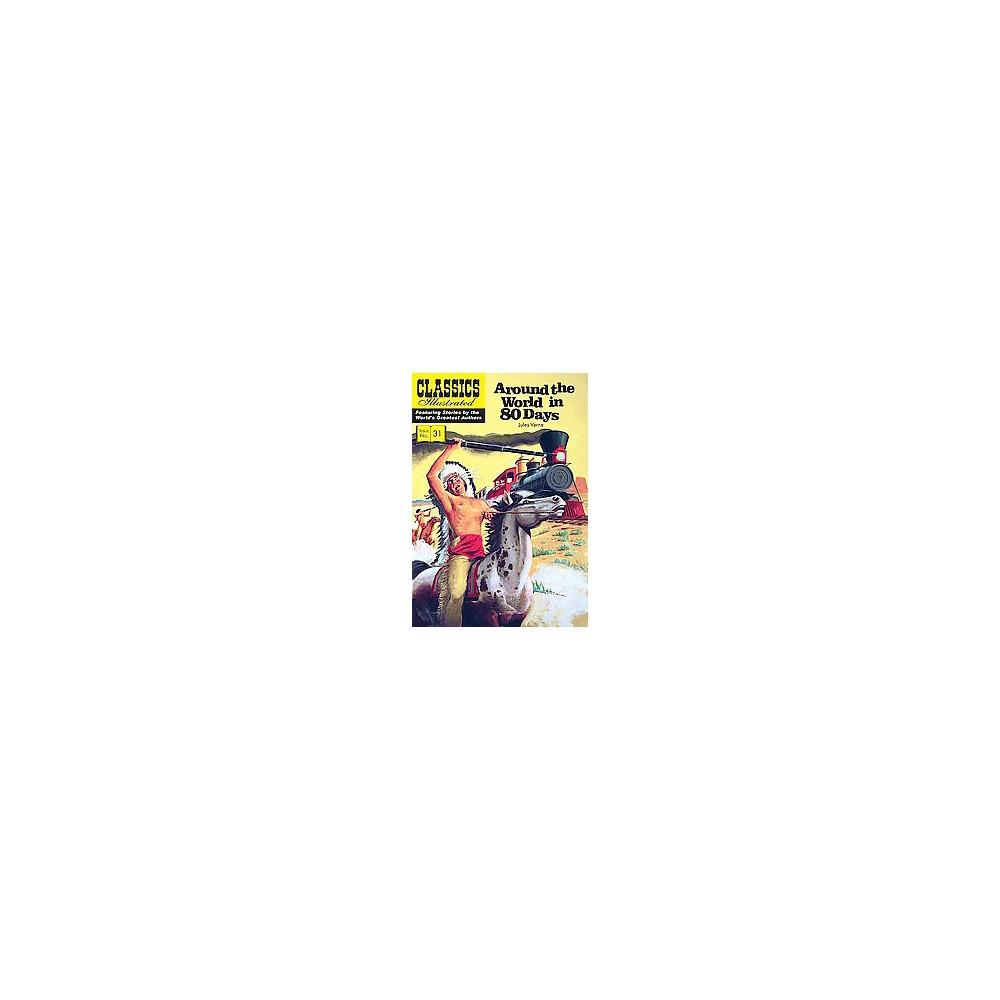 Around the World in 80 Days (Paperback) (Jules Verne & Henry C. Kiefer)