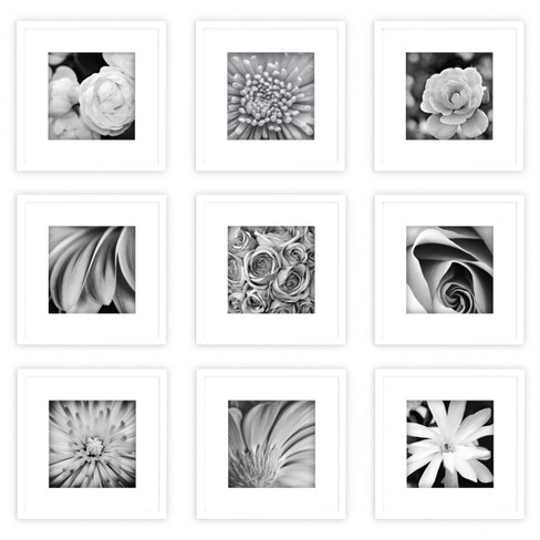 Gallery  Perfect Picture Frame White 9pk - Gallery Solutions - image 1 of 4