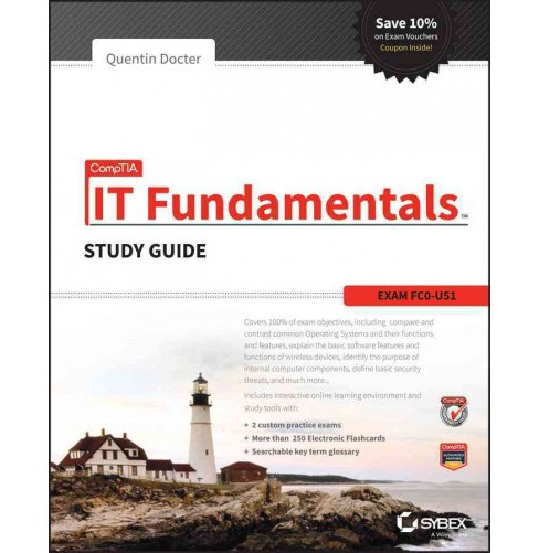 CompTIA IT Fundamentals : Exam FC0-U51 (Study Guide) (Paperback) (Quentin Docter) - image 1 of 1