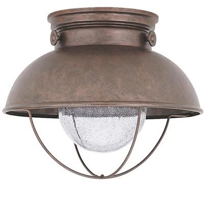 Generation Lighting Sebring 1 light Weathered Copper Outdoor Fixture 886993S-44