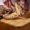 MegaChef Bamboo Kitchen Countertop 4 Piece Metal Bread Basket and Canister Set in Gray with Lids - image 2 of 4