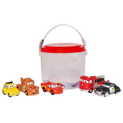 Disney Cars Bath Bucket Playset - Disney store