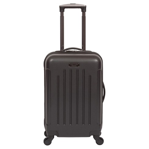 "Heritage Lincoln Park Lightweight ABS 4 Wheel Carry-On Suitcase - Black (20"") - image 1 of 7"