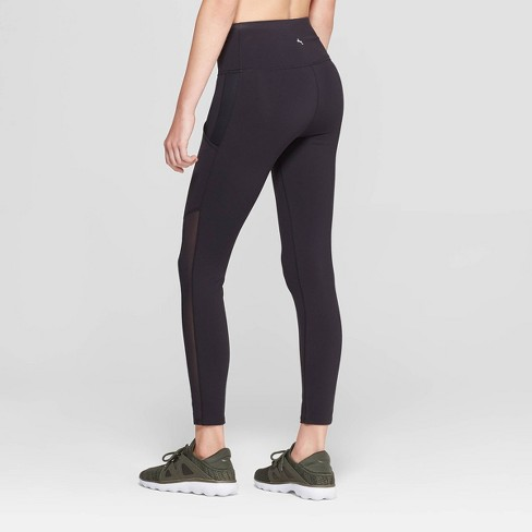 4bb00d4912ded Women's Premium High-Waisted 7/8 Mesh Panel Leggings - JoyLab™ : Target