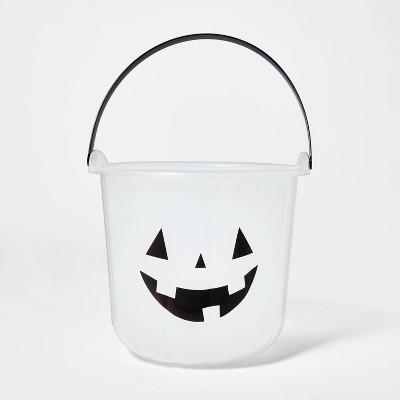 Glow in the Dark Pumpkin Stackable Halloween Trick or Treat Bucket - Hyde & EEK! Boutique™