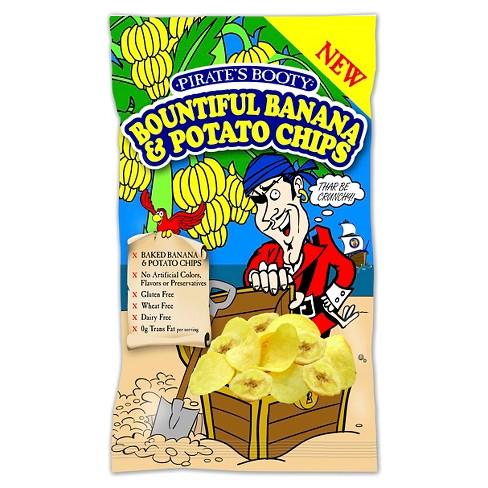 Pirates Booty Bountiful Banana Chips 10 oz - image 1 of 1