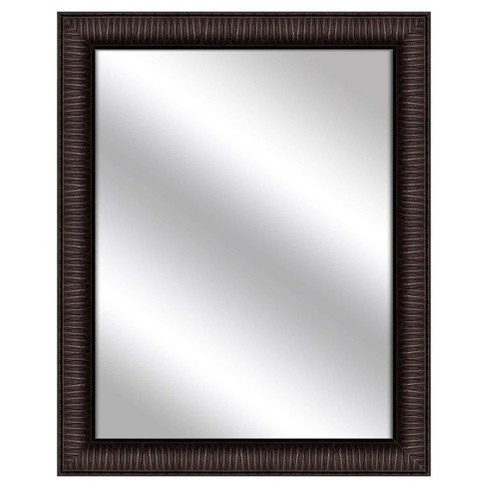Decorative Wall Mirror PTM Images Black Espresso - image 1 of 1