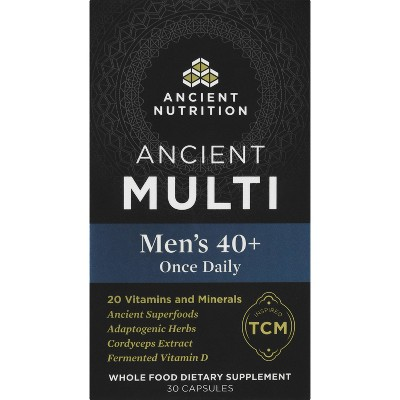 Ancient Nutrition Ancient Multi's Men's 40+ Once Daily Capsule - 30ct