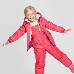 Toddler Girls' Printed Tech Fashion Jacket - Cat & Jack™ Pink