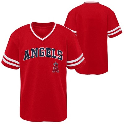 MLB Los Angeles Angels Toddler Boys' Pullover Jersey