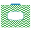 "Barker Creek File Folders, Multi Design, 9.5"" x 12"", 12ct - Chevron Nautical - image 4 of 4"