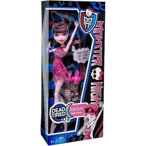 Monster High Dead Tired Draculaura 10.5-Inch Doll [Alternate Outfit] - image 1 of 2