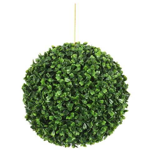 "Artificial Boxwood Ball (9"") Green - Vickerman - image 1 of 1"