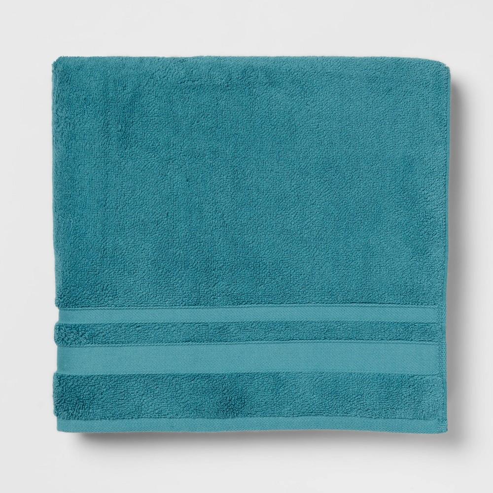 Performance Bath Towel Turquoise Threshold 8482