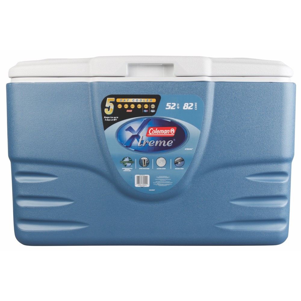 Image of Coleman 52qt Xtreme 5-Day Heavy Duty Cooler - Blue
