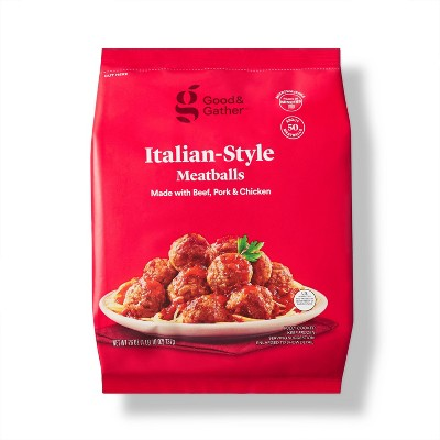 Italian Style Beef, Pork, & Chicken Meatballs - Frozen - 26oz - Good & Gather™