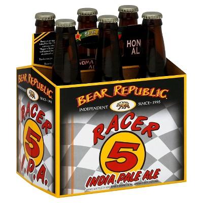 Bear Republic Racer 5 IPA Beer - 6pk/12 fl oz Bottles