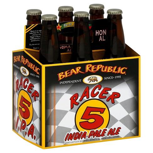 Bear Republic Racer 5 IPA Beer - 6pk/12 fl oz Bottles - image 1 of 1