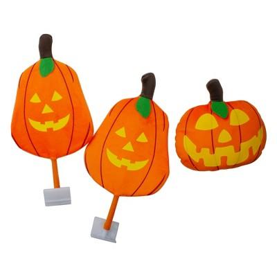 "Mystic Industries 19"" Orange and Yellow Pumpkins Halloween Car Decorating Kit - Universal Size"