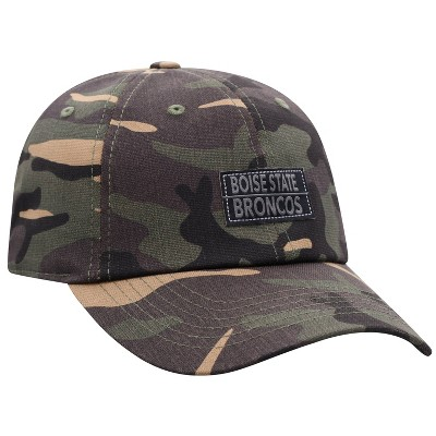 NCAA Boise State Broncos Men's Camo Washed Relaxed Fit Hat