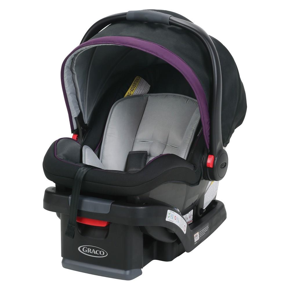 Graco SnugRide SnugLock 35 Infant Car Seat - Jodie, Purple
