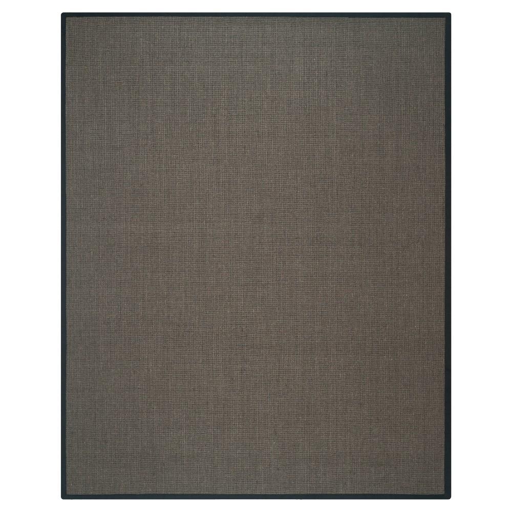 Klara Natural Fiber Area Rug - Charcoal (Grey) (9' X 12') - Safavieh