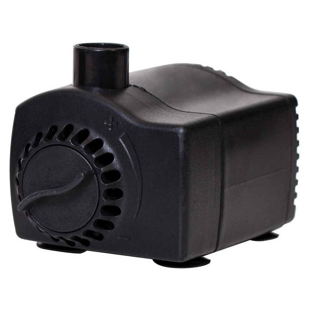"Image of ""2"""" Pond Boss 185 GPH Fountain Pump with Low Water Auto Shut-off, Black"""