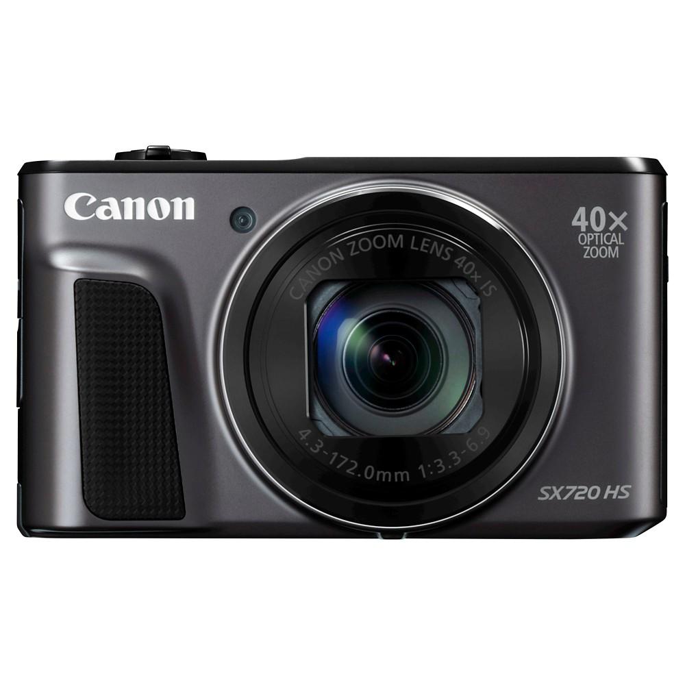 Canon PowerShot SX720 Camera - Black (1070C001)