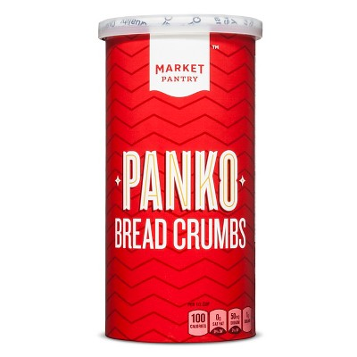 Plain Panko Bread Crumbs 8oz - Market Pantry™