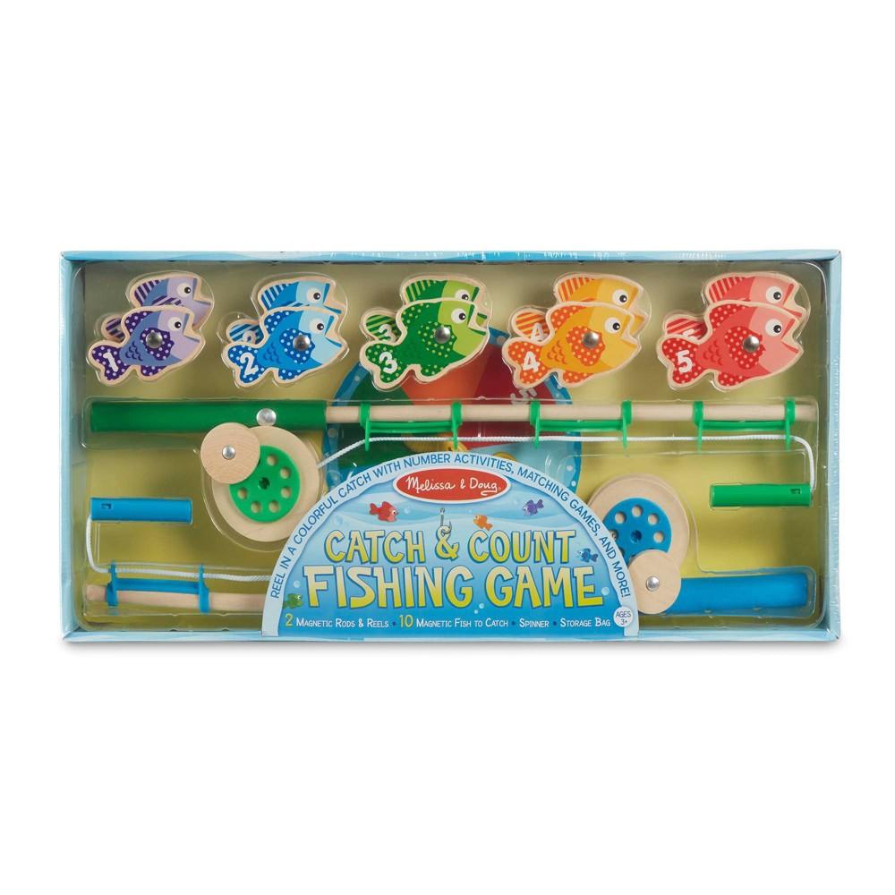 Melissa Doug Catch Count Fishing Game