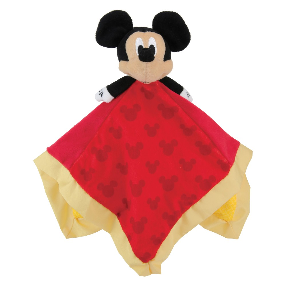Image of Disney Baby Mickey Mouse Blanket - Red