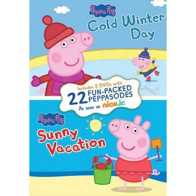 Peppa Pig: Cold Winter Day / Sunny Vacation (DVD)