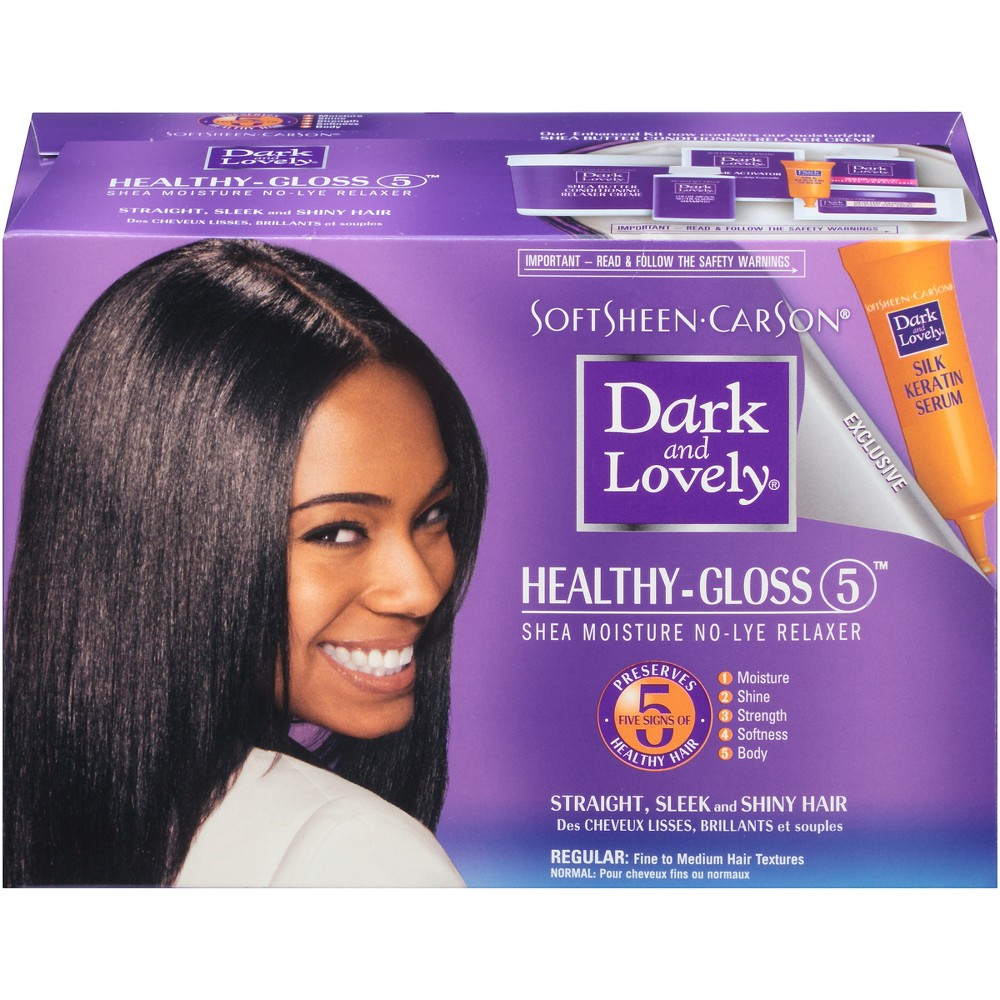 Image of SoftSheen-Carson Dark and Lovely Healthy-Gloss 5 Shea Moisture No-Lye Hair Relaxer