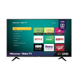 "Hisense 55"" 4K UHD Roku TV with HDR/Voice Control (55R7F)"