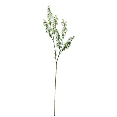 """Allstate Floral 27"""" White Baby Blossom Artificial Spring Floral Spray"""