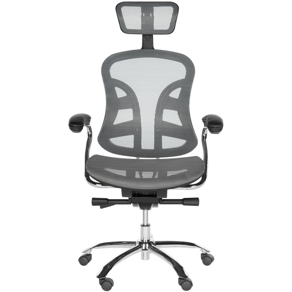 Jarlan Desk Chair Gray - Safavieh