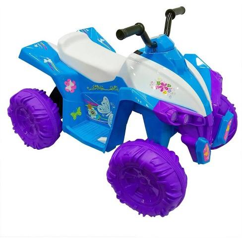 Kid Motorz 12V Monster Quad Powered Ride-On - Blue - image 1 of 4