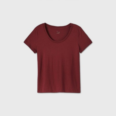 Women's Short Sleeve Scoop Neck T-Shirt - A New Day™
