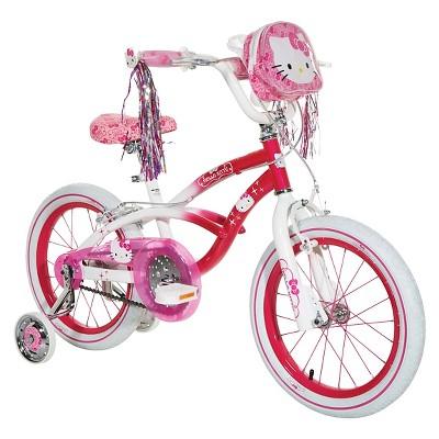 "Dynacraft Hello Kitty 16"" Kids Bike - Pink/White"
