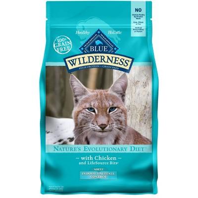 Cat Food: Blue Buffalo Wilderness Indoor Hairball Control