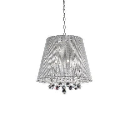 OK Lighting Daydream Crystal Ceiling Lamp