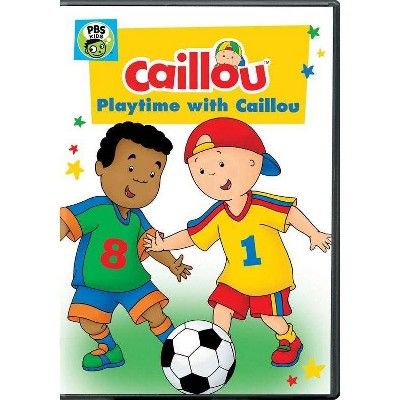 Calliou: Playtime with Caillou (DVD)(2017)